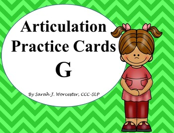 Articulation Practice Card /G/