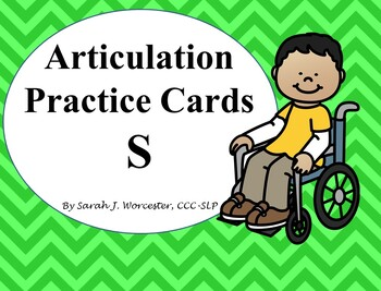 Articulation Practice Card  /S/