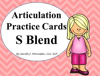 Articulation Practice Card /S Blend/