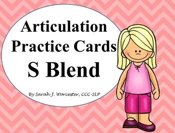 Articulation Practice Card /S Blend/