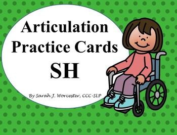 Articulation Practice Card /SH/