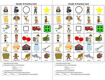 Articulation Practice Cards Bundle for Distance Learning