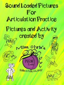Articulation Practice {SOUND LOADED PICTURES}