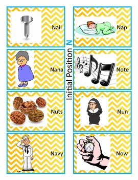 Speech Therapy and RTI: Articulation Practice The N Sound