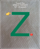 Articulation Practice Z-Sound in Isolation Speech Production