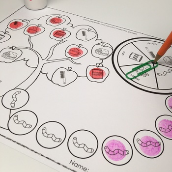 Articulation Print & Go: Apple Picking