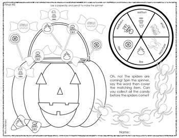 Articulation Print & Go: Halloween