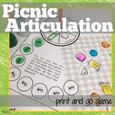 Articulation Print & Go: Picnic