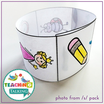 Articulation Activities Print & Go - S,L & R Blends