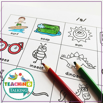 Articulation Activities Print and Go Worksheets