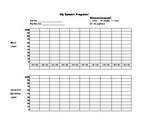 Articulation Progress Chart - Isolation and Word Levels