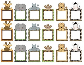 Articulation Progress Chart {Jungle Themed}