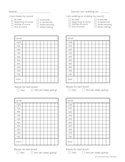Articulation Progress Monitoring Charts - Kid Friendly!