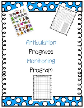 Articulation Progress Monitoring Program