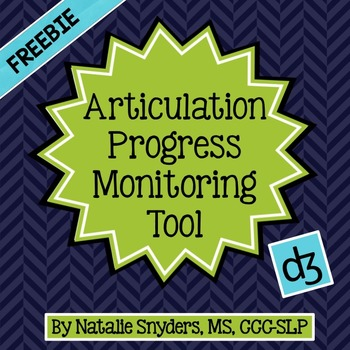 Articulation Progress Monitoring Tool for Speech Language