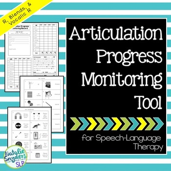 Articulation Progress Monitoring Tool for R for SLPs