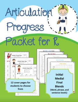 Articulation Progress Packet for R