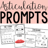 Articulation Prompts for all Speech Sounds for Speech and Language Therapy