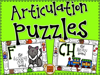 Articulation Puzzle Mats