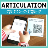 Articulation QR Code Cards - CH, L, SH, TH