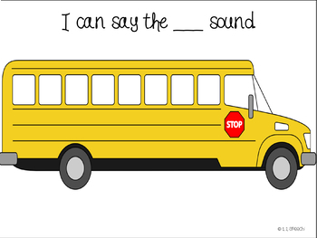 Articulation R - Back to School Theme