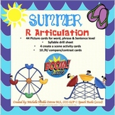 Articulation /R/ Boom Cards - Summer Themed