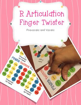 Articulation R - Finger Twister