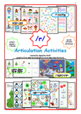 Articulation /R/ Bundle:  Picture Cards Games Activities