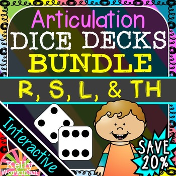 Articulation - R, S, L, & TH - Words and Sentences - Inter