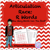 Distance Learning Articulation: Race with R Words