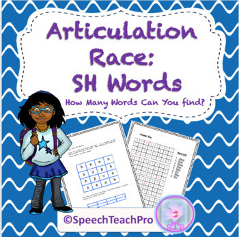 Articulation: Race with SH Words