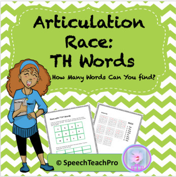 Articulation: Race with TH Words