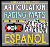 Articulation Racing Mats Español Toy Companion for Speech Therapy