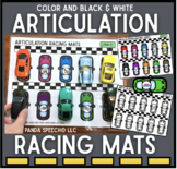 Articulation Racing Mats Toy Companion for Speech Therapy