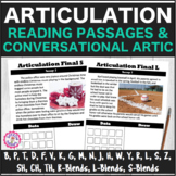 Articulation Reading Passages and Conversation