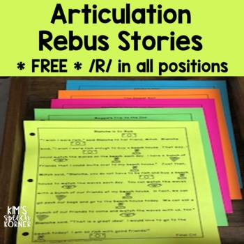 Articulation Rebus Stories - Free Sample - Initial R