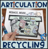 Articulation Recycling! Speech Therapy Craft Activity