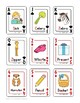 Articulation Regular Card Game for /s/, /z/, and /s/-blends Speech Therapy