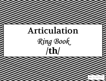 Articulation Ring Book - /th/
