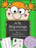 Articulation Ring-a-Lings Early Sounds Set 2: K, G, F, Y, T, D