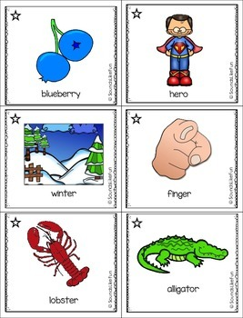 Articulation Ring-a-Lings L, R, S, and Blends
