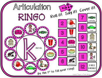 Articulation Ringo K - Roll it! Say it! Cover it!