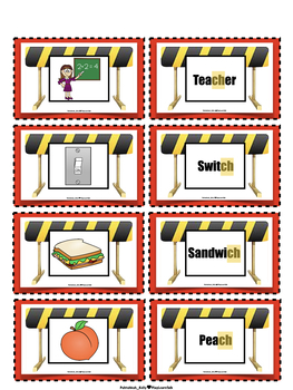 "Articulation ""Road Blocks"" CH - Speech Therapy"