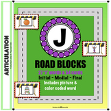 "Articulation ""Road Blocks""- ""J"" Speech Therapy"