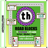 "Articulation ""Road Blocks"" - TH Speech Therapy"