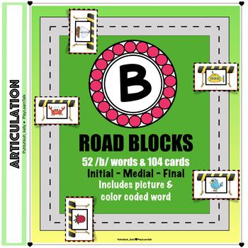 "Articulation ""Road Blocks"" /b/ Speech Therapy"