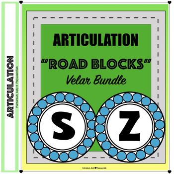 """Articulation """"Road Blocks"""" /s/ & /z/ BUNDLE"""