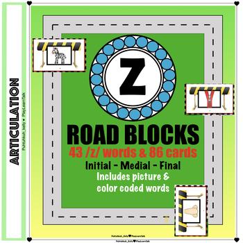"Articulation ""Road Blocks"" /z/ Speech Therapy"