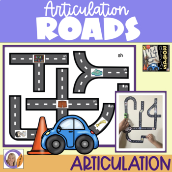 Articulation Roads: An Interactive Speech Game for speech and language therapy
