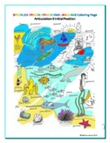 Articulation - S Sound in Initial Position - Coloring Sheet - Phonics